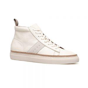 Custom Beige Mid Sneaker