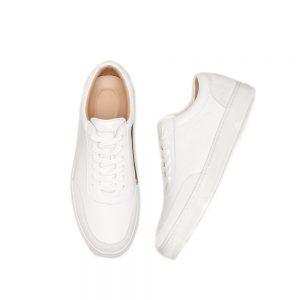 Custom White Leather Sneaker