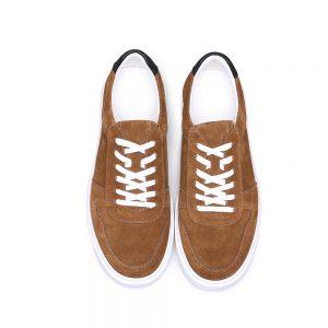 Custom Brown Suede Sneaker